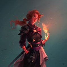 menschlicher Schurke 🔥⚔️ - Sarah's World Dungeons And Dragons Characters, Dnd Characters, Fantasy Characters, Female Characters, Female Character Design, Character Creation, Character Design Inspiration, Character Art, Rogue Character