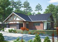 Artemida - murowana – beton komórkowy - zdjęcie 6 Home Fashion, Solar Panels, House Plans, Cabin, House Styles, Outdoor Decor, Home Decor, Sun Panels, Decoration Home
