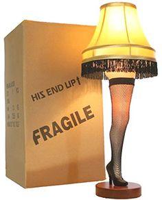 "A Christmas Story 26"" Desktop Leg Lamp"