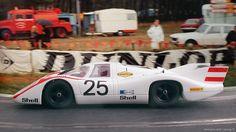 24 heures du Mans 1970 - 917L #25- Pilotes : Vic Elford / Kurt Ahrens - Abandon
