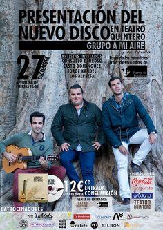 CONCIERTO BENÉFICO 27 DE DICIEMBRE. Con la entrada, CD gratis + una consumición el mismo día.