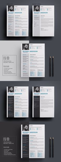 70 Well-Designed Resume Examples For Your Inspiration Resume