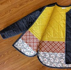 Sewing Projects Clothes Women Jackets Style Ideas For 2019 Quilted Clothes, Sewing Clothes, Diy Clothes, Clothes Women, Style Clothes, Dress Sewing, Clothing Patterns, Sewing Patterns, Shirt Patterns