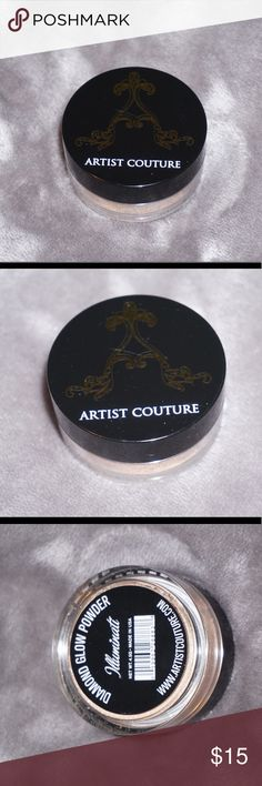 Artist Couture Diamond Glow Powder Artist Couture Diamond Glow Powder in the shade Illuminati. This product is BRAND NEW and still has the plastic film over the Product. Makeup Luminizer