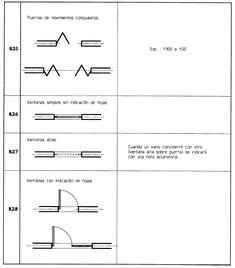 Dibujo t cnico representaci n de objetos en planta muros for Croquis un libro de arquitectura para dibujar pdf