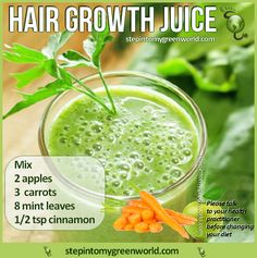 Juice Recipe for Hair Growth