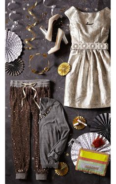 Personal Styling: New Year's Eve Spangles on the #AnthroBlog