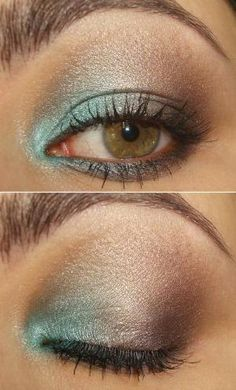 little pop of turquoise in the corner... by freida