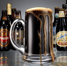 The Darkest Beer. Porter tastes as rich as its history, just not as murky