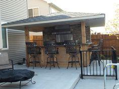 landscape construction llc - grill / outdoor kitchen | outdoor