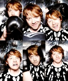 (68) Tumblr Harry Potter Ron, Harry Potter Characters, Rupert Grint, Ron Weasley, Fantastic Beasts, Celebrity Crush, It Cast, Actors, Celebrities