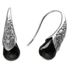 Midnight Spell Onyx Drop Earrings