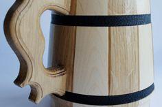 Engraving beer mug, wooden beer mug, wood groomsmen gift, handmade mug, rustic…