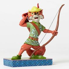 "Release date Feb 2016. ""Roguish Hero""-Robin Hood Figurine"