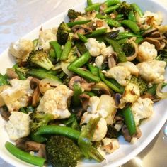 mixed veggies side dish