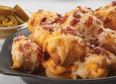 """Little Caesars Loaded Crazy Bread Bites 