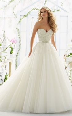 Wedding Dress Inspiration - Morilee by Madeline Gardner
