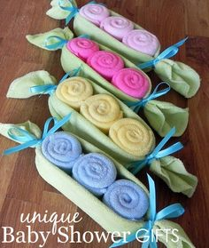Unique baby shower gift ideas - everyone will be ooh-ing and ahh - . - Baby Diy - Unique baby shower gift ideas – everyone will be ooh-ing and ahh -… - Baby Shower Crafts, Baby Crafts, Baby Shower Favors, Baby Shower Parties, Baby Shower Themes, Baby Boy Shower, Baby Shower Decorations, Baby Showers, Shower Ideas