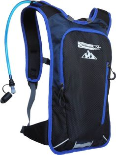 Hydration Pack Bike Backpack with 50 Oz / 1.5L BPA-Free Bladder for Running >>> Read more  at the image link.