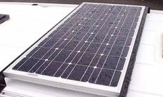 100 watt solar panel installed with 30 amp controller. Capacity of controller allows for additional panels. Van Specialties #solarpanels,solarenergy,solarpower,solargenerator,solarpanelkits,solarwaterheater,solarshingles,solarcell,solarpowersystem,solarpanelinstallation,solarsolutions