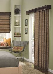 Click on this and look at all the natural textures available Woven Wood Sliding Panels