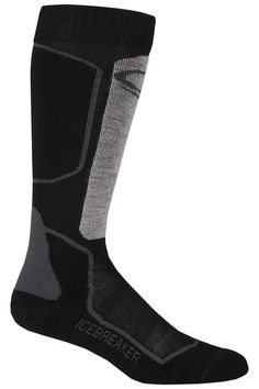 a9a65deb86e Icebreaker Mens Skiing + Light Ski Socks - Black