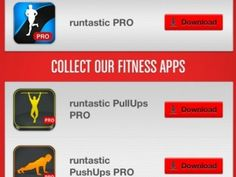 Check these out then become my friend. Best apps I've found. And look the other tips I've posted.  runtastic smartphone apps for fitness- best workout apps