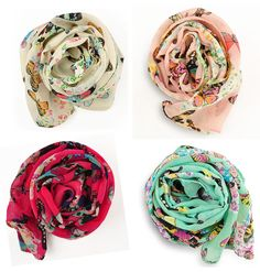 NEW buttefly chiffon Women Ladies Scarf Neck Shawl Scarf Scarves Wrap Stole Warm #other #fashionScarf