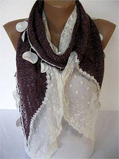 NEWTrend Scarf Fashion Scarf  ShawlsScarvesGift by SmyrnaShop, $19.00