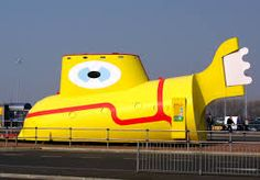 Image result for yellow submarine liverpool