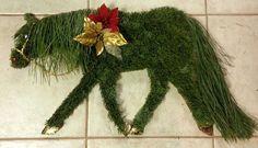 Horse greenery!
