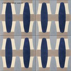 Cement Tile Shop - Handmade Cement Tile | Sea Mist