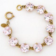 Catherine Popesco Jewelry | Petal Chunky Crystal Bracelet