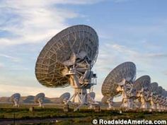 When infomercials arrive from another galaxy, the Very Large Array will hear them first. Its 27 giant dishes pivot in unison as they track noise from distant space. Moon Map, Radio Astronomy, New Mexico Homes, Land Of Enchantment, Wild Spirit, British Colonial, Ghost Towns, Looks Cool, Walking Tour