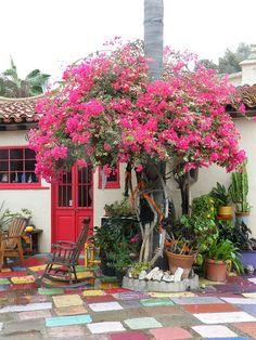 Most amazing little art colony in San Diego. Spanish Village Art Center.
