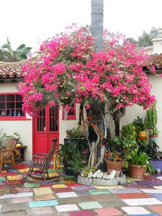 Most amazing little art colony in San Diego. Spanish Village Art Center.