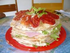salada de panquecas - Dicas Aki!