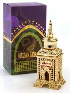 Muzakkerat by Al Haramain Perfumes is a Oriental fragrance for women and men. The fragrance features agarwood (oud), musk, amber, vanilla, sandalwood and floral notes.