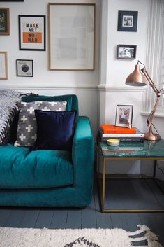 I've always said that we have the best High Street in the world, and this goes for homewares, too. Small Apartment Bedrooms, Small Apartments, Living Room Art, Living Room Designs, Gallery Wall Shelves, Gallery Walls, The Frugality, Home Board, Cozy House