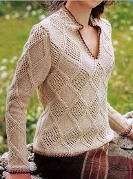 blusa de lã trico receita - Pesquisa Google