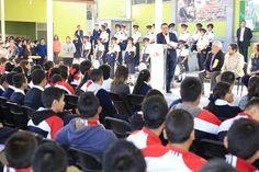 En la nueva plaza cívica, el gobernador de Michoacán destacó que tan sólo en el municipio de Morelia, su administración ha destinado alrededor de 250 millones de pesos para mejorar ...