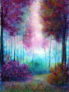 illustratosphere:  Prelude by Ann Marie Bone #art #colorful