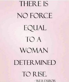 no! not at all. a woman that knows her worth has no problem in fighting for what she wants. if you get in the way of her rising, you'll become irrelevant to her.