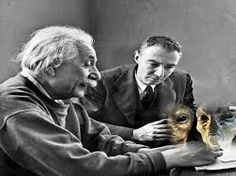"(N.Morgan) In June 1947, Albert Einstein and J. Robert Oppenheimer together wrote a top secret six page document entitled ""Relationships with Inhabitants of Celestial Bodies"". It states that the presence of unidentified spacecraft is accepted as de..."