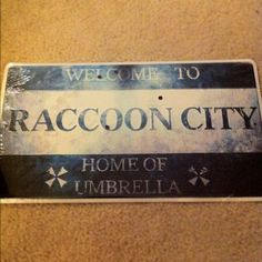 What could this mean? #RaccoonCity #zombies?