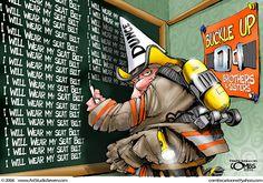 Illustrator Paul Combs http://www.artstudioseven.com/ shared by nyfirestore.com