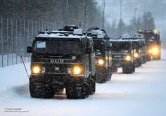 Hagglunds BV206 All Terrain Tracked Vehicles in Norway | Flickr - Photo Sharing!