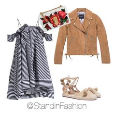 """""""Untitled #120"""" by standinfashion on Polyvore featuring Nasty Gal, Marc New York, MSGM and Dolce&Gabbana"""