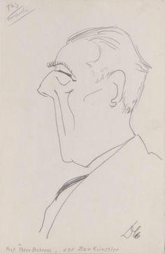 Fred Dolbin - Porträt Peter Behrens