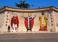 Lapislazzuli Blu: Sindaco #Bari #difende #murales, è #arte #Dipinti ...